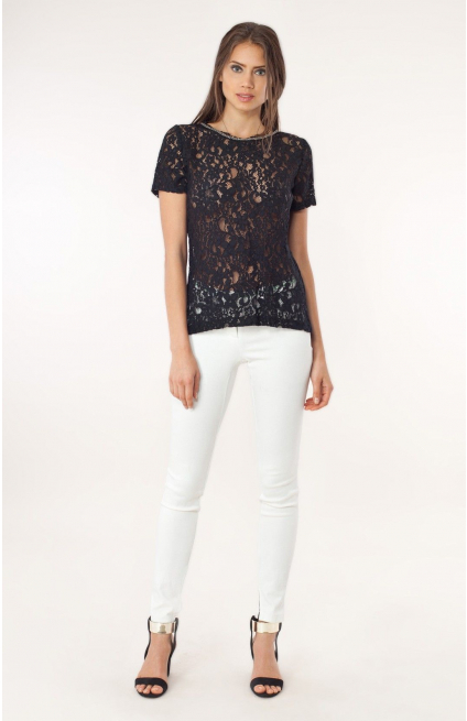 Amberly Lace Top